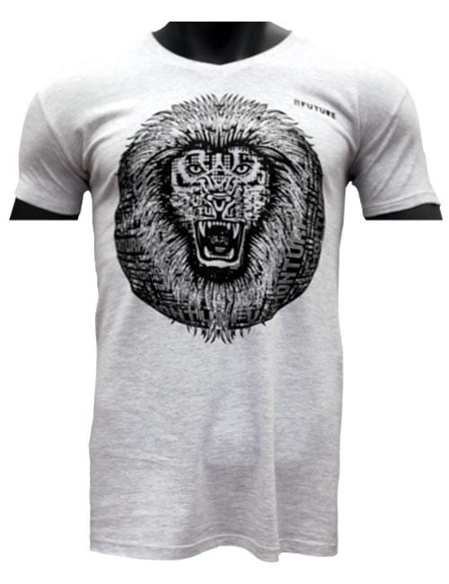 T-shirt-Biologique-Lion-Roar-Marque-Myfuture-Moyen Gamme-Made-In-France-01